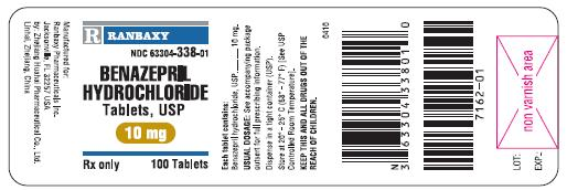 Bottle Label 10 mg 100's