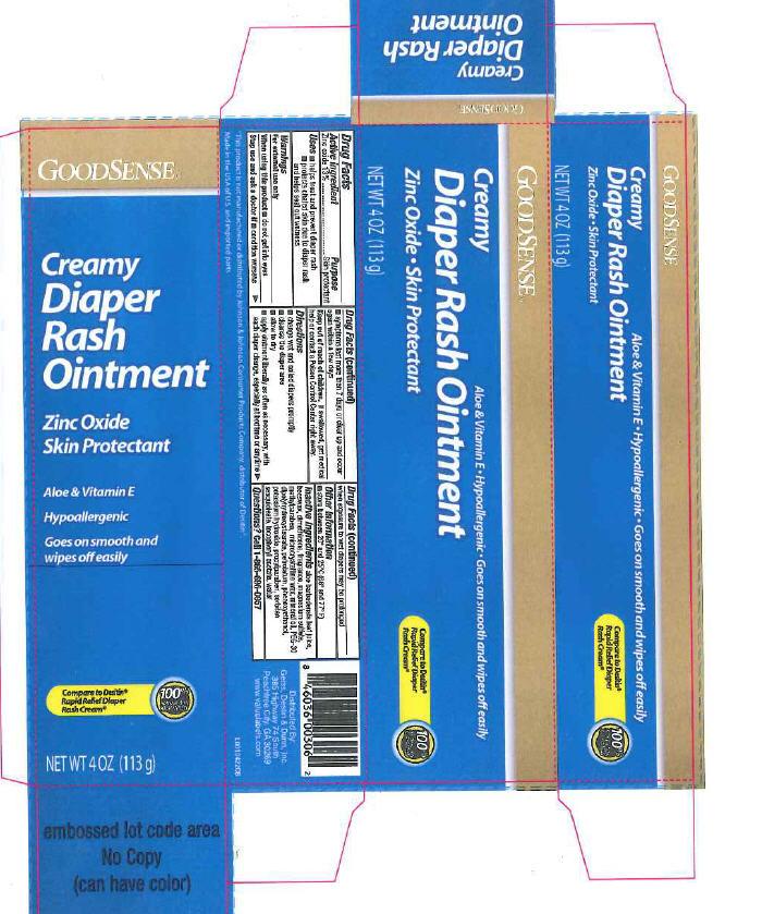 Creamy Diaper Rash (Zinc Oxide) Ointment [Geiss, Destin + Dunn, Inc]