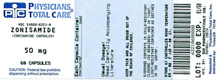 image of 50 mg package label