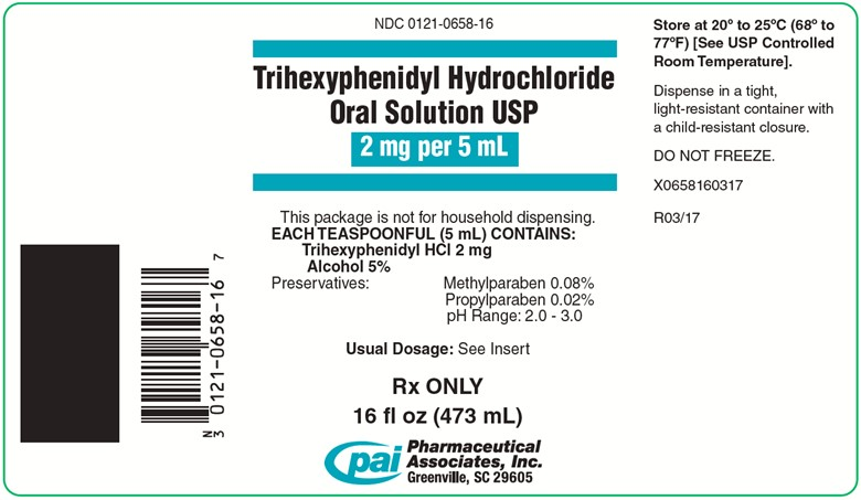 Trihexyphenidyl Hydrochloride Solution [Pharmaceutical Associates, Inc.]