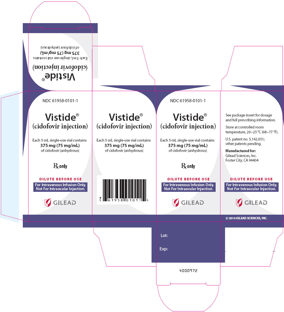 Vistide (Cidofovir) Injection [Gilead Sciences, Inc.]