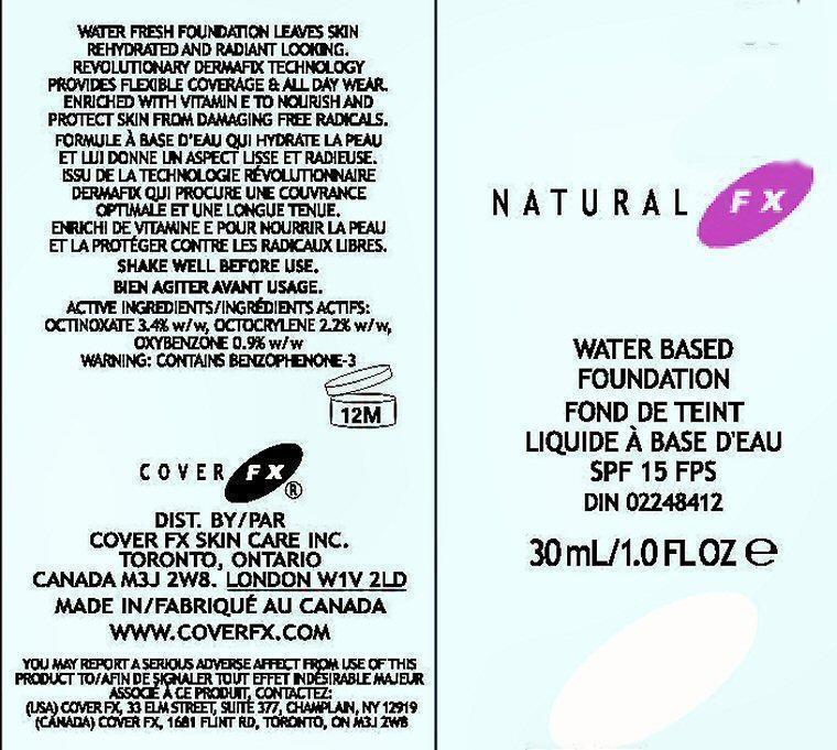 NATURAL FX1 LABEL