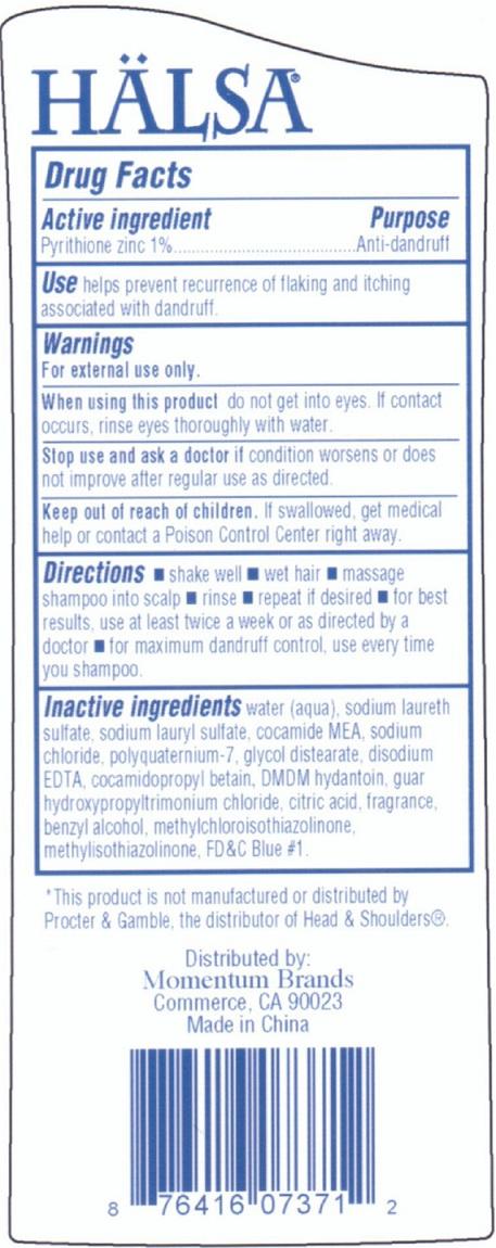 Halsa Pyrithione Zinc Dandruff (Pyrithione Zinc) Shampoo [Momentum Brands Dba 99 Cents Only Stores]