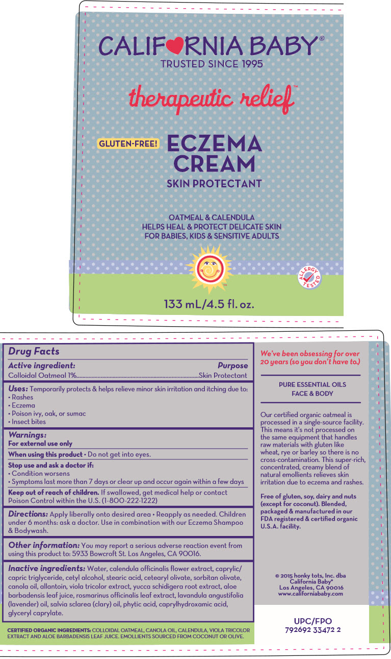 Eczema (Oatmeal) Cream [Organic & Sustainable Beauty]