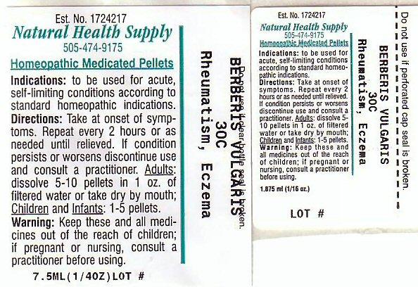 Nhs Rheumatism Eczema (Rheumatism Eczema) Pellet [Natural Health Supply]