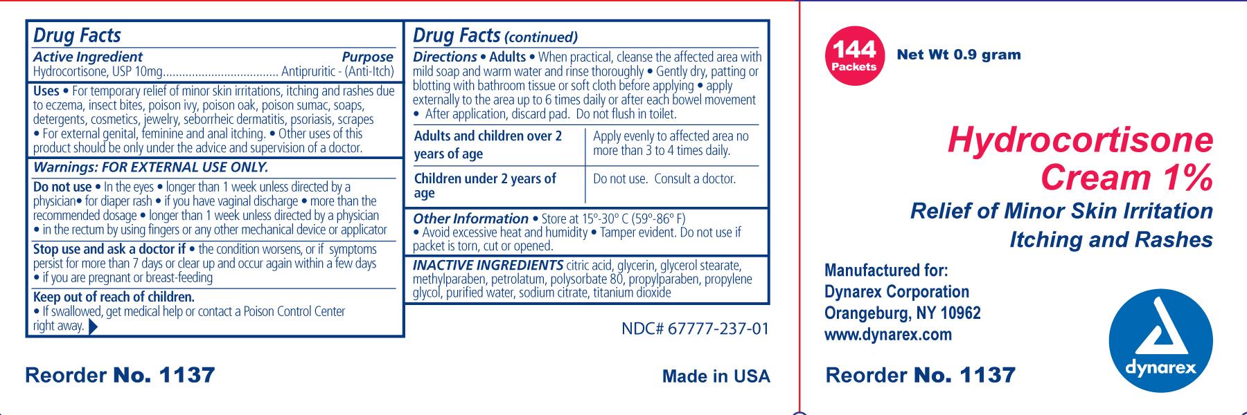 Hydrocortisone (Hydrocortisone ) Cream [Dynarex Corporation]