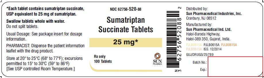 Sumatriptan succ 100 mg tablet side effects
