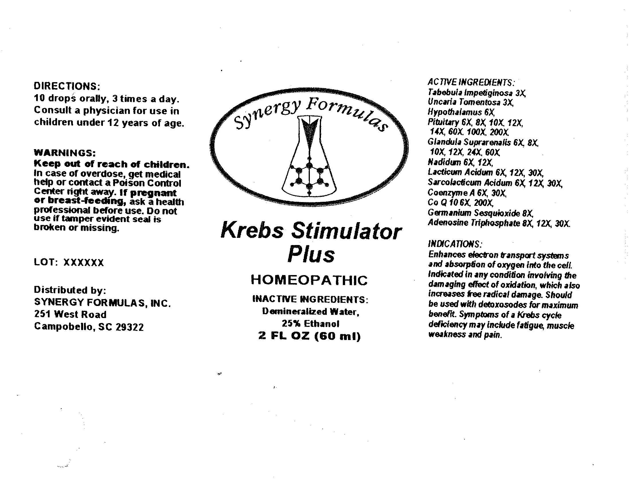 Krebs Stimulator Plus
