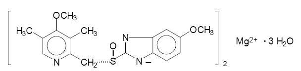 esomeprazole structure
