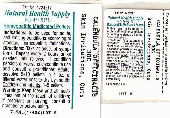 Nhs Skin Irritation Cuts (Skin Irritation Cuts) Pellet [Natural Health Supply]