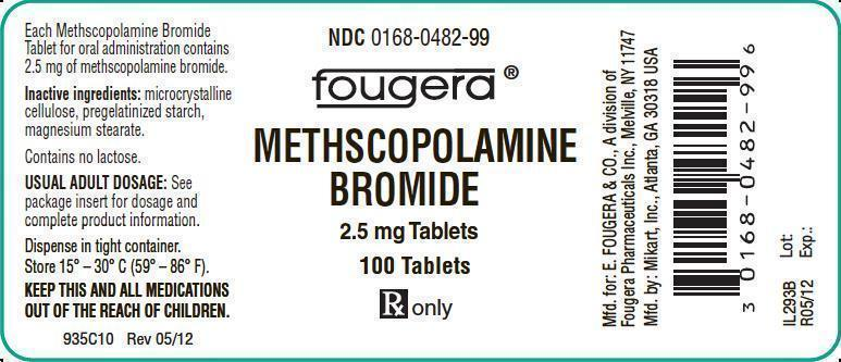 Methscopolamine Bromide Tablet [E. Fougera & Co. A Division Of Fougera Pharmaceuticals Inc.]