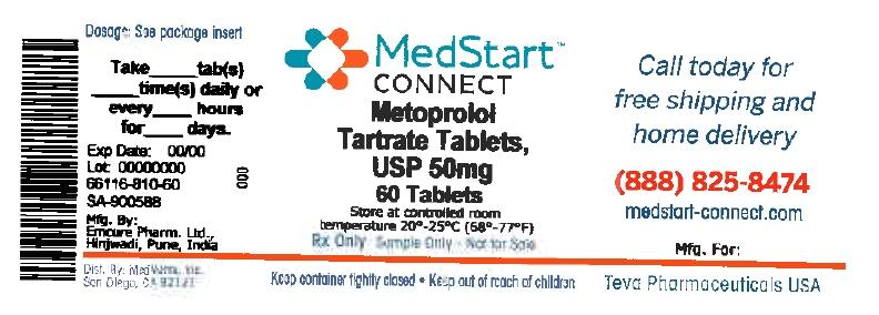 Metoprolol Tartrate Tablet, Film Coated [Medvantx, Inc.]