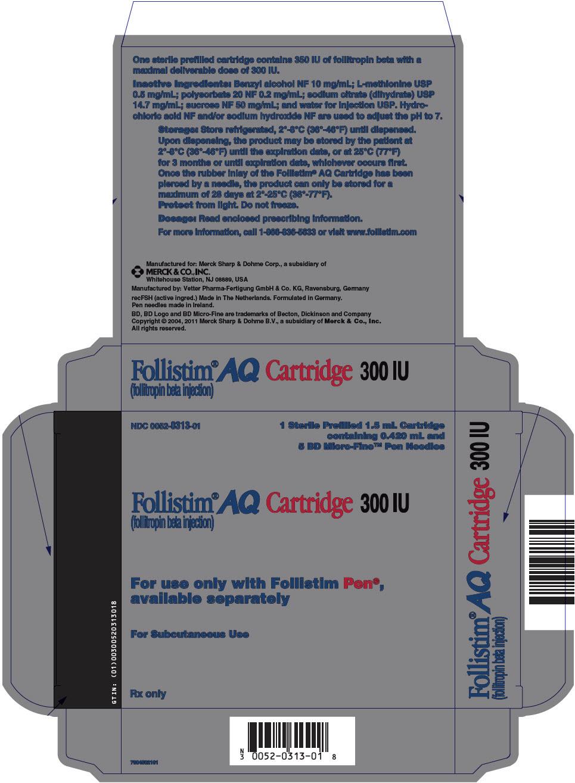 Follistim Aq (Follitropin) Injection, Solution [Organon Usa Inc.]
