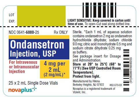 Ondansetron Injection [West-ward Pharmaceutical Corp.]