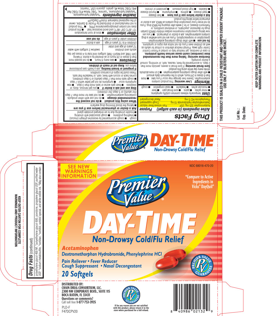PREMIER VALUE DAYTIME COLD AND FLU RELIEF