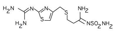 Famotidine Structural Formula