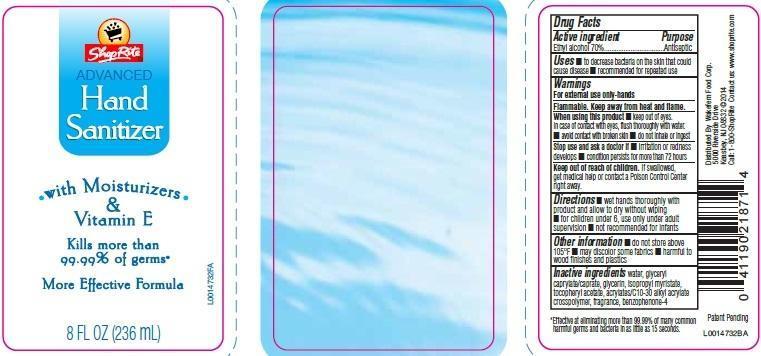 Advanced Hand Sanitizer (Alcohol) Gel [Wakefern Food Corp.]