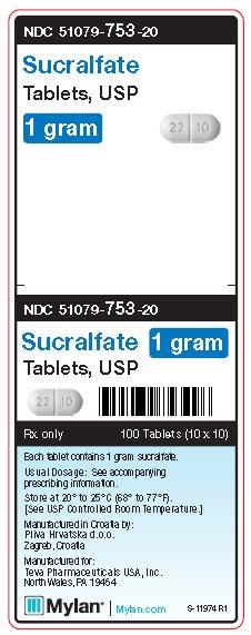 Sucralfate Tablet [Mylan Institutional Inc.]