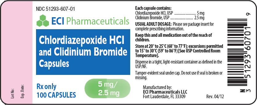 Chlordiazepoxide Hydrochloride And Clidinium Bromide Capsule [Eci Pharmaceuticals Llc]