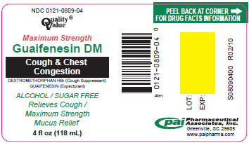 Guaifenesin Dm (Guaifenesin And Dextromethorphan) Solution [Pharmaceutical Associates, Inc.]