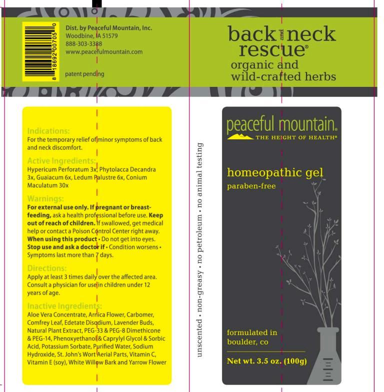 Back and Neck Rescue