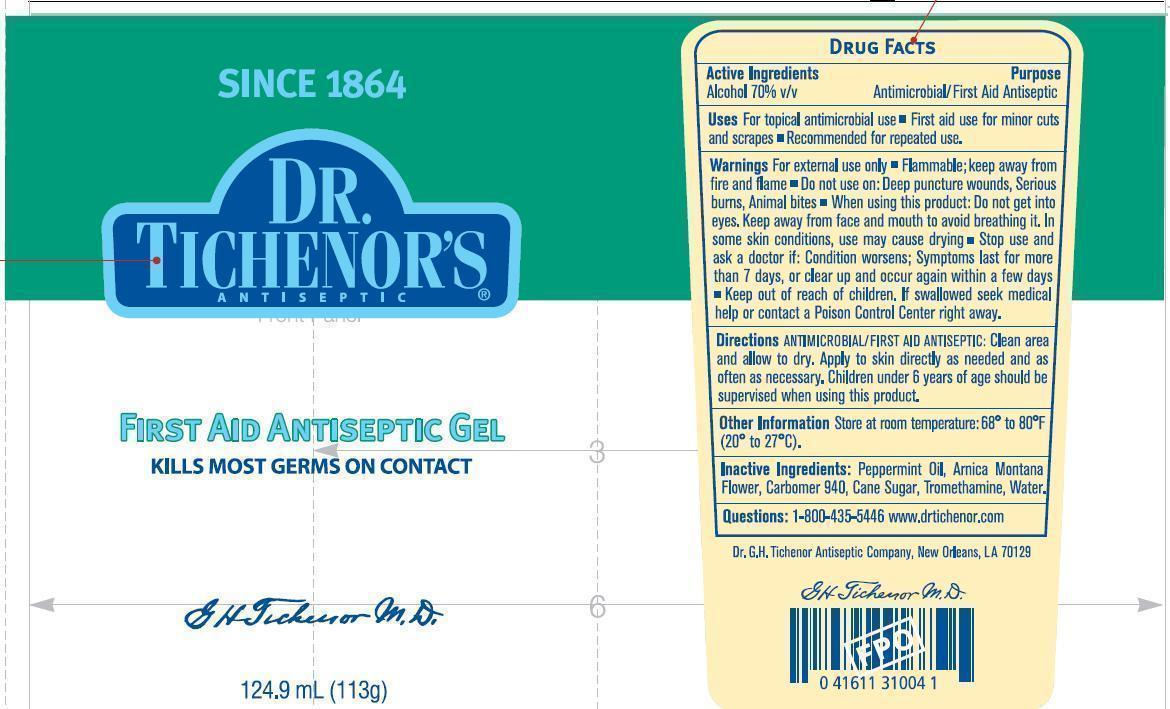 Dr Tichenors First Aid Antispetic (Alcohol) Gel [Dr. G. H. Tichenor's Antiseptic Company]