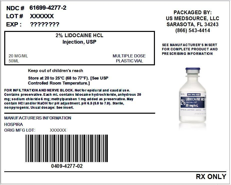 Lidocaine Hydrochloride (Lidocaine Hydrochloride Anhydrous) Injection, Solution [Us Medsource, Llc]