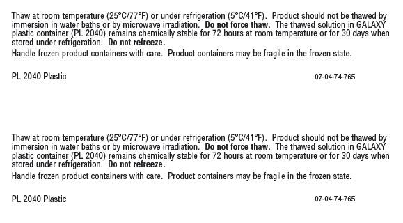 Vancomycin Representative Carton Label 0338-3580-48 panel 3 of 3