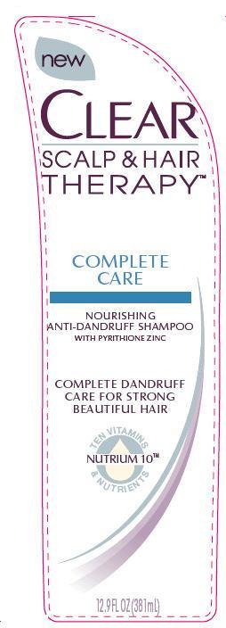 Clear Complete Care Antidandruff (Pyrithione Zinc) Shampoo [Conopco Inc. D/b/a Unilever]