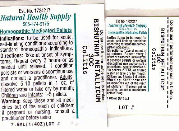 Colitis (Bismuth) Pellet [Natural Health Supply]