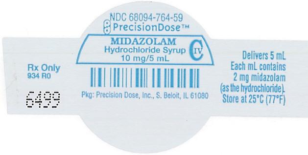 Midazolam Hydrochloride Syrup [Precision Dose Inc.]