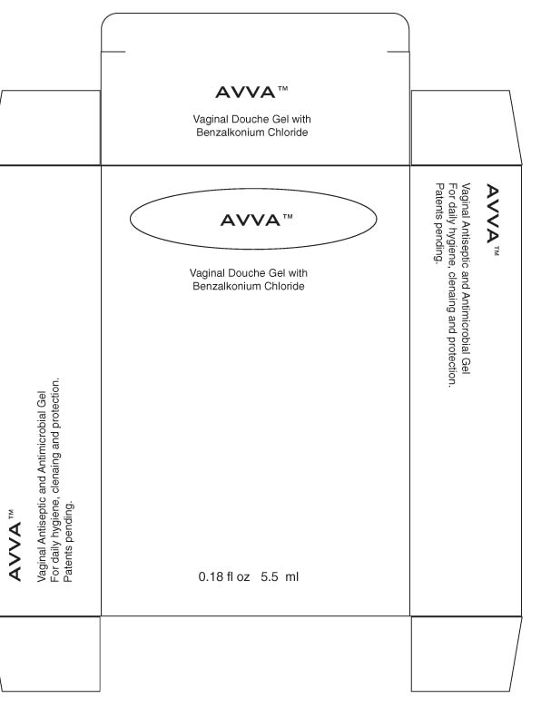 Avva Vaginal (Benzalkonium Chloride) Douche [Eastern Century Pharmaceuticals]