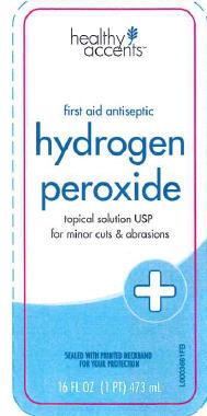 Hydrogen Peroxide Solution [Dza Brands, ]