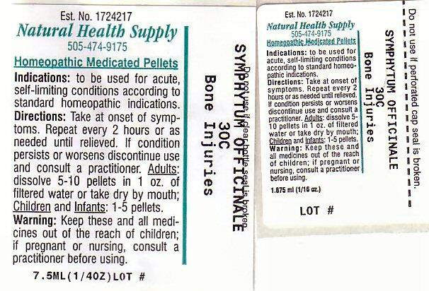 Bone Injuries (Comfrey Root) Pellet [Natural Health Supply]
