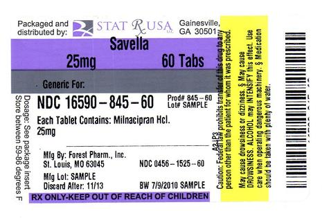 SAVELLA 25MG LABEL IMAGE