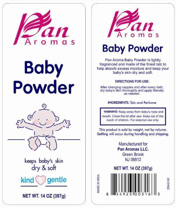 Pan Aromas Baby (Talc) Powder [Pan Aromas Llc]