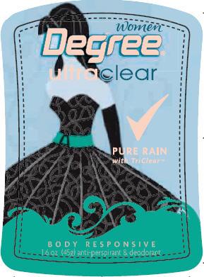 Degree Women Pure Rain 1.6 oz PDP front