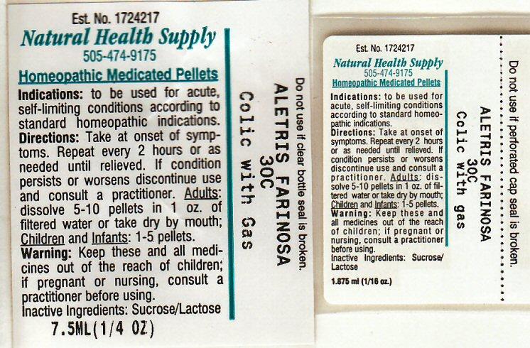 Colic With Gas (Aletris Farinosa Root) Pellet [Natural Health Supply]
