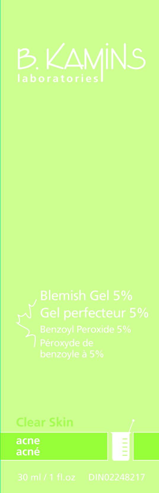 Blemish (Benzoyl Peroxide) Gel [Kamins Dermatologics Inc.]