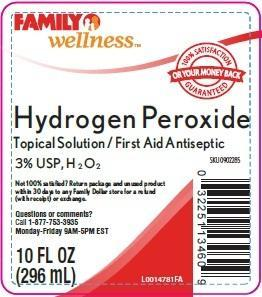 Hydrogen Peroxide Solution [Family Dollar]