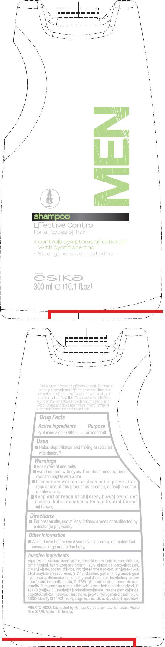 Esika (Pyrithione Zinc) Liquid [Ventura Corporation (San Juan, P.r)]