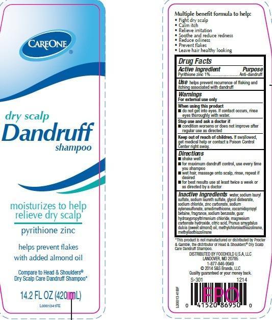 Dry Scalp Dandruff (Pyrithione Zinc) Shampoo [Foodhold U.s.a. Llc]