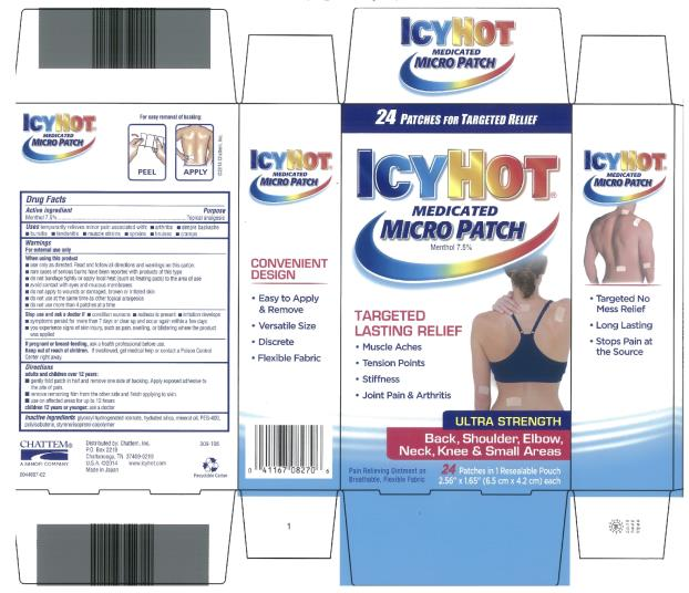 Icy Hot Medicated Micro (Menthol) Patch [Chattem, Inc.]