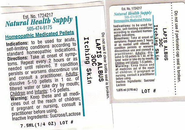 Itching Skin (Calcium Hexafluorosilicate) Pellet [Natural Health Supply]