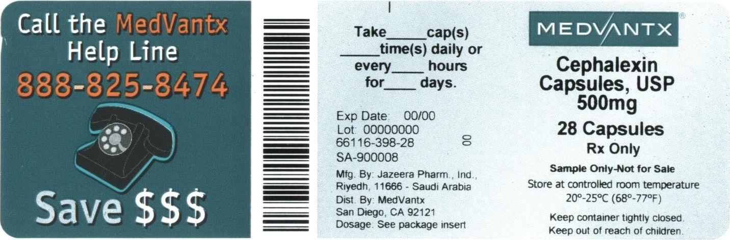 Cephalexin Capsule [Medvantx, Inc.]