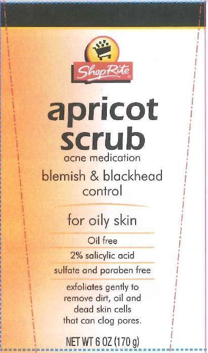 Medicated Apricot Scrub (Salicylic Acid) Gel [Wakefern Food Corp]