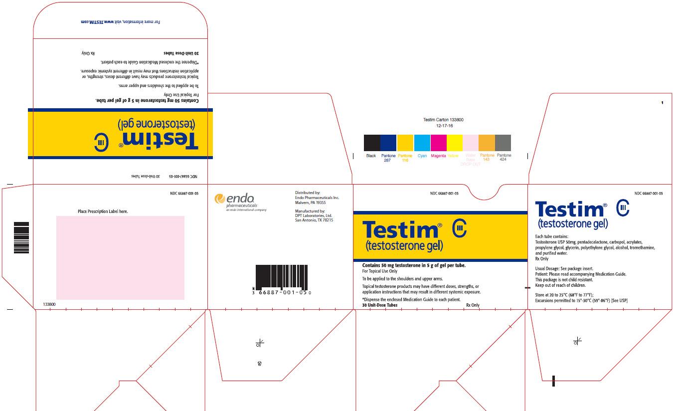 Package Label - Principal Display Panel – 30 Unit-dose Tubes Carton