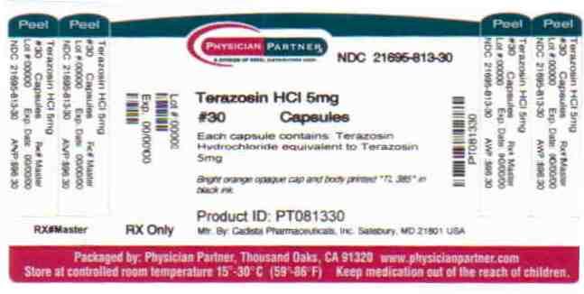 Terazosin HCL 5mg
