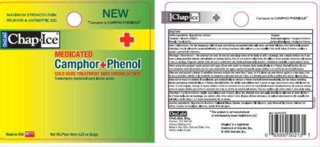 Chapice Camphor Phenol Gel (Camphor, Phenol) Gel [Oralabs]