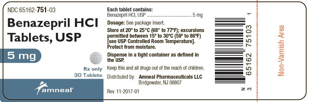 5 mg Label